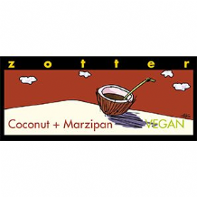 Zotter Coconut And Marzipan 70g